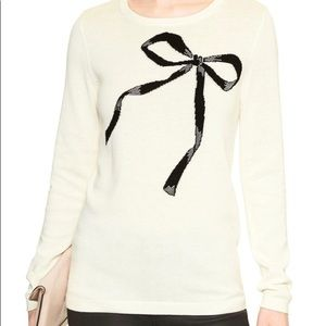 Banana Republic bow sweater - PINK - s